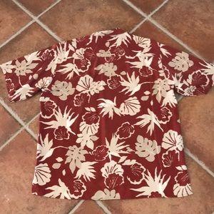 Island Republic Shirts - Men's Island Republic 100% silk shirt